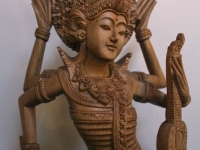saraswati carving